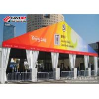 Quality Fireproof A Shape Outdoor Show Tents , Aluminum Frame Large Exhibition Tent for sale