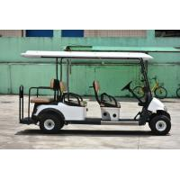 Buy CE Approval White Color 6 Passenger Golf Carts Electric Mini Car With 2 Reverse at wholesale prices