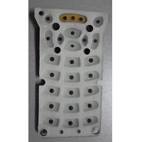 Buy Colorful Keyboard Silicone Rubber Mold With Printing / Oil Dropping at wholesale prices