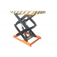 Quality 1000kg Stationary Scissor Lift Table With Max Lift Height 1000mm 1.5kw Power for sale