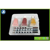 Quality Environmental Plastic Cosmetic Trays organizer , acrylic cosmetic tray for sale