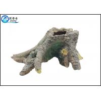 Quality Hand-crafted Realistic Tree Stump Fish Aquarium Craft Non-toxic Poly Resin for sale