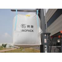 Quality Type D dissipative anti static bulk bags CROHMIQ fabric up to 4400lbs capacity for sale