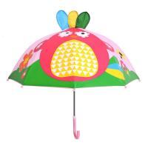 Quality UV Resistant Cartoon Kids Rain Umbrellas , Manual Childrens Animal Umbrellas for sale