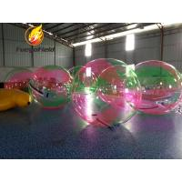 Quality Inflatable Walking Water Ball Inflatable Water Toys 2m Diameter TPU / PVC for sale