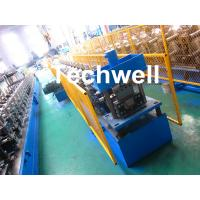 Quality PPGI , Aluminum Forming Material Gutter Roll Forming Machine For Making Rainwater Gutter , Seamless Gutter for sale