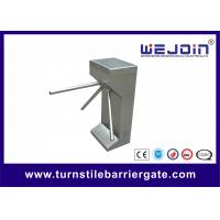 Quality Automated waist high Tripod Turnstile Gate vehicle access control barriers , Rotation Pan for sale