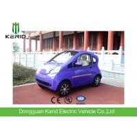 Quality 2 Seater Electric City Car For Transportation , Small Electric Vehicles Bright Color for sale