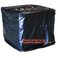 Quality Reusabe PVC Tarpaulin Cover,Heavy Duty Plastic PVC Pallet Cover Tarp, Duarable recylable 100% virgin PE material stretch for sale