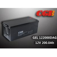 Quality 12V 200AH non spillable sealed rechargeable battery , GEL Military Energy Storage Battery for sale