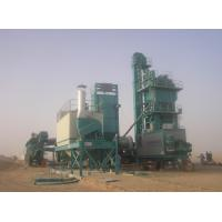4 hot stone compartment Mobile Asphalt Plant 0.15KW wall vibrator Festo cylinder