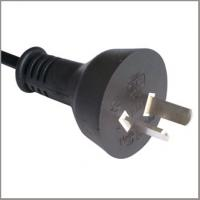 Quality Argentina power cables with 2-pin power cord plug IRAM approval for sale