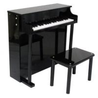 Quality Pretty Black Upright Mini Toy Wooden Toy Piano 37 Key For Toddlers U37A for sale