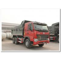 6x4 HOWO A7  dump truck 420Hp payload 30 tons loading lower fuel consumption and Left Hand Driving Type