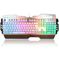 Buy Custom LED PC Gaming Keyboard Alumium Alloy Plate With ABS Plastic Base at wholesale prices