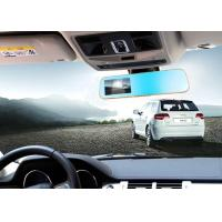 Quality 12V rearview mirror with built - in dvr camera Anti Glare digital LCD panel embedded for sale