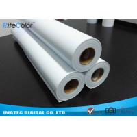 Quality Eco Solvent Matte PP Synthetic Paper , Solvent based Polypropylene Paper for Outdoor Display for sale