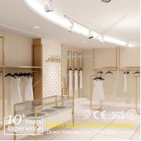 Quality Beautiful design garment shops display stands for sale