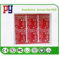 Quality Red Solder Mask Electronic Circuit Board Assembly , Double Sided Pcb Board 2oz for sale