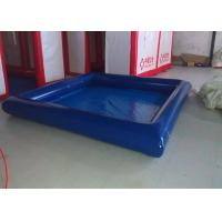 Quality Fire Resistant Square Outdoor Inflatable Swimming Pool High Heat Welded EN14960 for sale