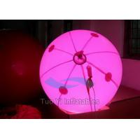 Quality Halogen Inflatable Lighting Balloon , Dia. 1M LED Light Balloons for sale