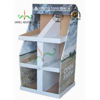 Quality Food Presentation Cardboard Display Stands , Cardboard Product Display Stands for sale
