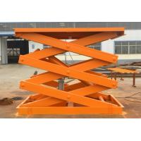 Quality Cargo carrying scissor lift for sale