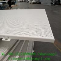 China fabric perforated acoustic wall panel for banquet hall decoration on sale
