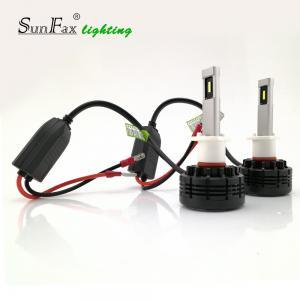 China Aluminum Material H1 LED Headlight Bulb , 36w 24V / 12v LED Bulbs For Cars on sale