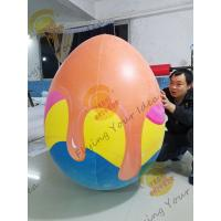 China Weather - Resistant Giant Product Replicas Inflatable Egg For Amusement Park on sale