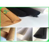 Quality Washable Kraft Liner Paper For Trademark / White Kraft Paper Roll for sale