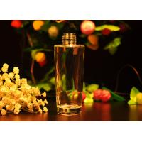 Quality Long Round Glass Perfume Bottles For Personal Care / Home Decor , 140ml for sale