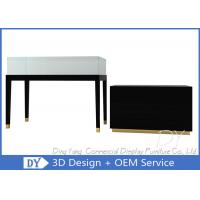 Quality Attractive Black Jewellery Shop Counter  / Jewelry Display Counter for sale