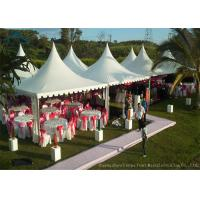 Quality Easy-Assembly Aluminium Frame Pagoda Tents For Outdoor Wedding Parties With 5m by 5m Size for sale