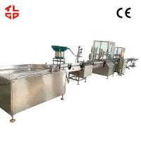 Quality Aerosol Filling Machine For Aerosol Can Fresh Air / Oxygen Gas 2000-3200 Cans/ Hour for sale