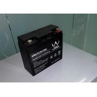 Quality Electric scooter / Inverter Rechargeable Sealed Lead Acid Battery 12v 17ah 6FM17H for sale