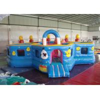 Buy cheap Lovely Waterproof Inflatable Toddler Playground ,  Kids Bouncy Castle Rental from wholesalers
