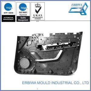 Quality IATF 16949 Certificated Auto Interior Trim Molding , Car Body Molding Black Car Plastic Door Part for sale