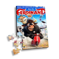 Quality Flip 3D Lenticular Printing Service Children Educational Toy 3D Jigsaw Puzzle for sale