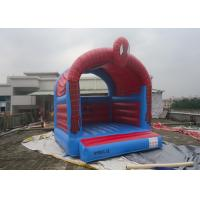 Customize Inflatable Spiderman Jumping Castle / Spiderman Inflatable Bouncer For Kids