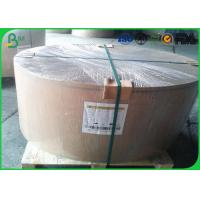 Quality Cream White Bond Big Paper Rolls , 70gsm 80gsm Woodfree Paper For School Note Book for sale