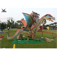 Quality Outdoor Exhibition Animatronic Dinosaur Lawn Statue Artificial Dragon Statue for sale