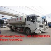 Quality 2018s high quality and best price Euro 5 Dongfeng tianjin 4*2 LHD 10tons-12tons animal feed delivery truck for sale for sale