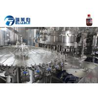 Buy cheap Sparking Water / Gas Beverage Carbonated Drink Filling Machine Full Automatic from wholesalers