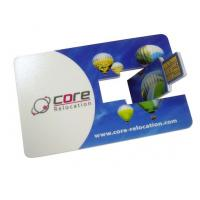 Quality Intel business, plane Credit Card USB Drives memory stick 16GB, 32GB (MY-UC02) for sale