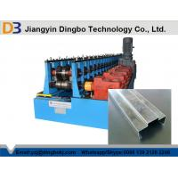 Buy cheap Panasonic Control System Steel Door Frame Making Machines For Colored Galvanized from wholesalers