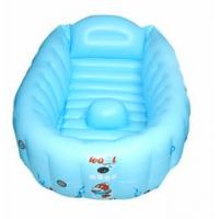 Quality 0.25mm PVC Inflatable Swimming Pools , Plastic Infant Baby Bathtub for sale