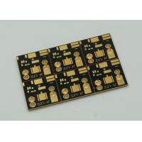 Quality 1 Layer Copper Clad PCB Board For High Power Led Lights Gold Finish for sale