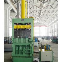 Quality Different Pressure Vertical Baler Machine Safe Manual Operation for sale