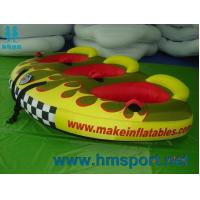 Quality HMSPORT New infaltable tube, ski tube, EVA foam pads throughout; multiple grab handles with knuckle guards for sale